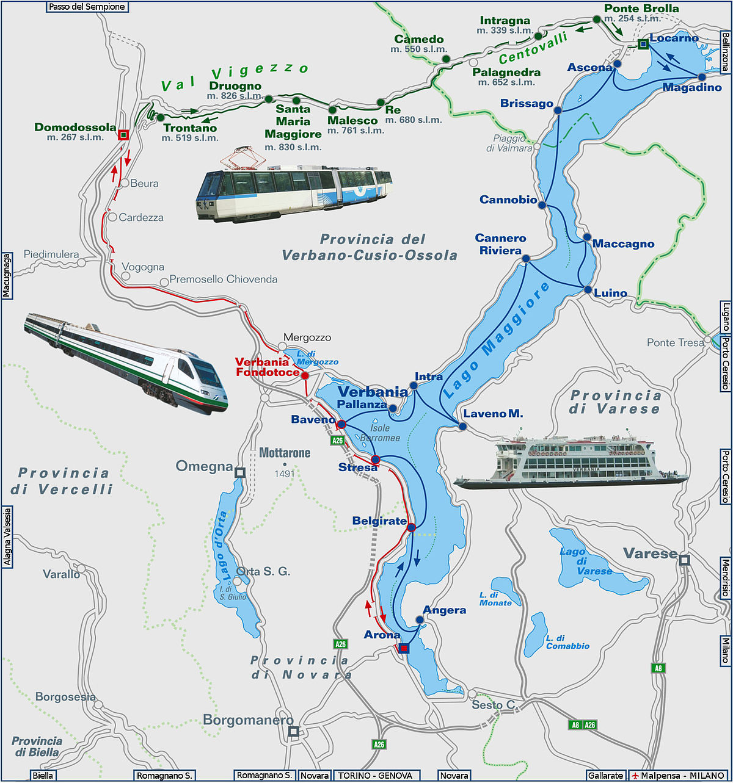 Lago Maggiore Karte Mit Orten.Ausflüge